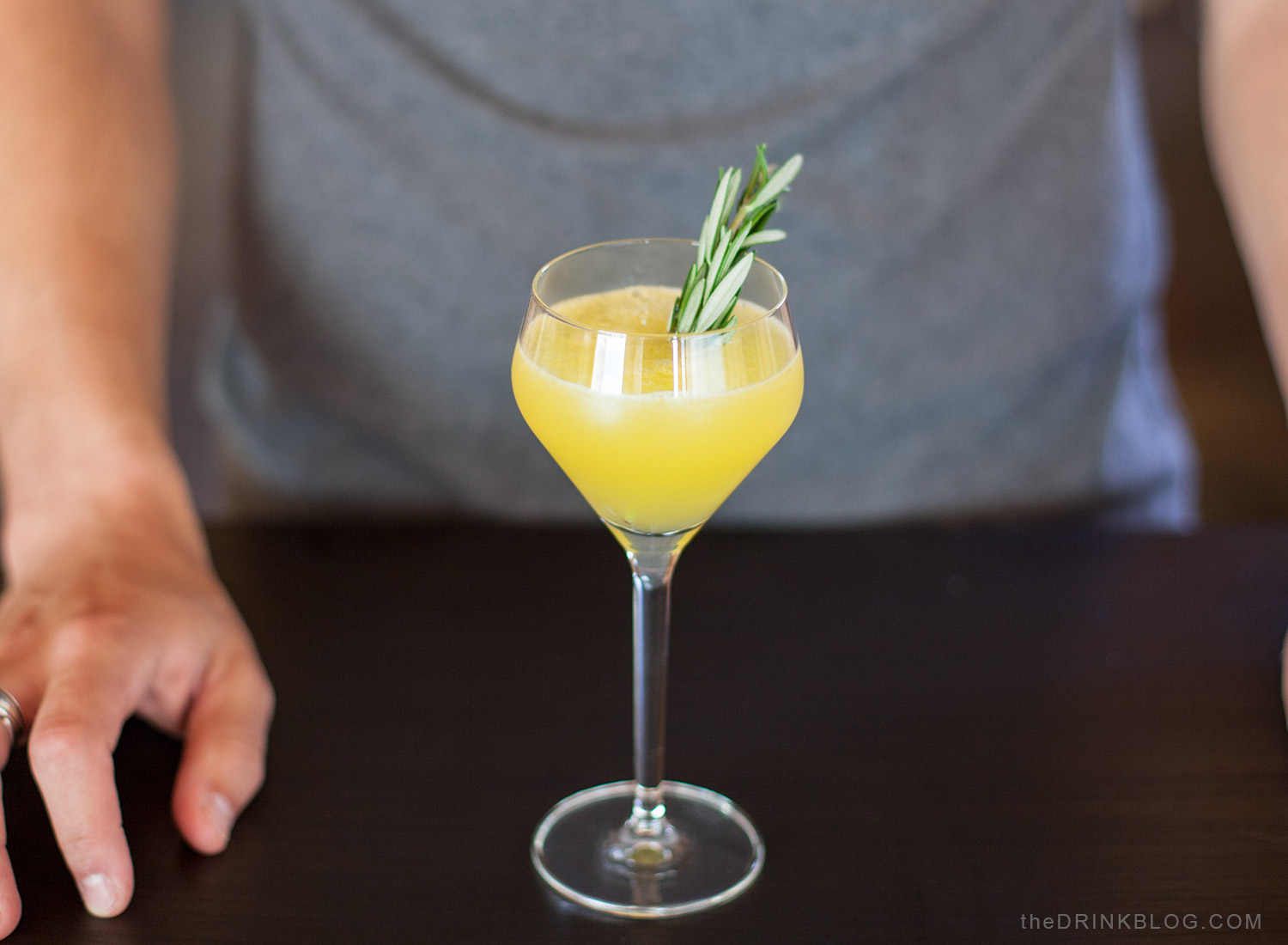rosemary screwdriver cocktail